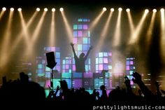 Derek Vincent Smith, Pretty Lights. This was at Bonnaroo 2011, still upset I missed this!