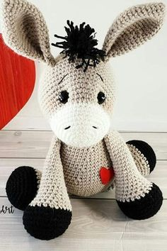 44 Awesome Crochet Amigurumi Patterns For You Kids for 2019 Part amigurumi for beginners; amigurumi for kids; amigurumi animals 44 Awesome Crochet Amigurumi Patterns For You Kids for 2019 Part amigurumi for beginners; amigurumi for kids; Crochet Animal Patterns, Stuffed Animal Patterns, Crochet Patterns Amigurumi, Amigurumi Doll, Crochet Animals, Crochet Dolls, Knitting Patterns, Kids Patterns, Crochet Stuffed Animals