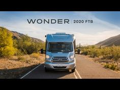 Take a video tour of the Wonder Class C RV by Leisure Travel Vans. See photos, videos, floorplans and more of the luxurious Wonder, built on the Ford Transit Cab Chassis. Leisure Travel Vans, Pleasure Way, Class B Rv, Exterior, Prince Edward Island, New Brunswick, Ford Transit, Tour Guide, Interiors