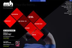 Mad Dance School website with parallax by Anna at Media Heroes