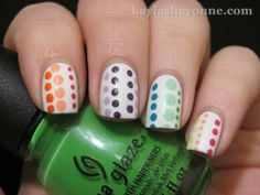 nail art Cores para o Verão, unhas Cores para o Verão