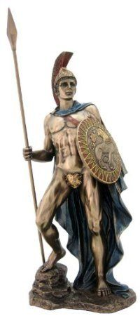 """inch statue of Ares, the god of war. Orphic Hymn 65 to Ares (trans. Taylor) (Greek hymns B.) :""""To Ares, Fumigation f Classical Mythology, Roman Mythology, Greek Mythology, Greek Goddess Statue, Son Of Zeus, Roman Gods, Greek Gods And Goddesses, Dragon Statue, Mythological Creatures"""