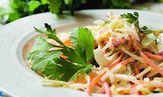 Jaime Oliver, raw veggie salad