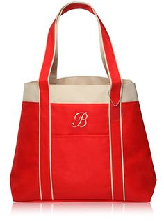 """Size: 13.25""""H x 16.25""""W x 5.25""""D Who says you can't look cute and proper with a tote bag? The Beverly Tote Bag combines style with the basic functionality of a tote bag to bring a simple yet elegant design. Walk along the streets of Beverly Hills and at a local book store in full confidence. The stylish Beverly bag is just what you need to maintain a compact look even with a lot of goods in your hands. If you love to shop on the way to work, you know how embarrassing it could…"""