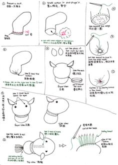 Little Horse Sock Doll Tutorial by httpecho.deviantart.com on @deviantART