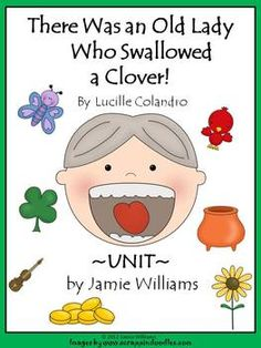 There Was an Old Lady Who Swallowed a Clover BOOK UNIT
