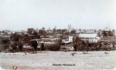 Fotos de Morelia, Michoacán, México: PANORAMA Hacia 1900