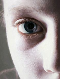 Gottfried Helnwein :: oil painting