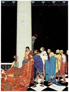 Flores y Palabras: Virginia Frances Sterrett: Tanglewood Tales #illustration #tanglewoodtales