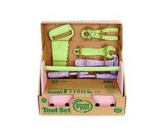 Green Toys Tool Set, Pink Green Toys http://www.amazon.com/dp/B005GTJ0L0/ref=cm_sw_r_pi_dp_7Yekwb09EPVGW