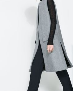 ZARA - WOMAN - STUDIO LONG VEST