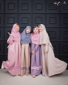 Abaya Fashion, Muslim Fashion, Modest Fashion, Girl Fashion, Fashion Outfits, Estilo Abaya, Hijab Gown, Modele Hijab, Abaya Mode