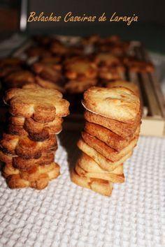 Bolachas Caseiras de Laranja * Homemade Orange cookies
