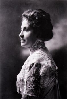 Educator, writer, activist Mary Church Terrell. She earned bachelor's (1884) and master's (1888) degrees from Oberlin College and was fluent in German, Spanish and French. Ms. Church Terrell was a founder and the first president of the National Association of Colored Women. She died in 1954, at the age of 90, not long after leading the fight to desegregate restaurants in Washington, D.C.