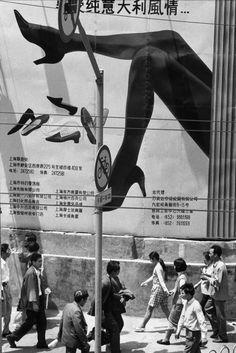 Marc Riboud, China, 1992.