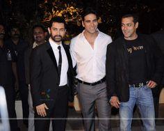 with Akshay Kumar and Salman Khan
