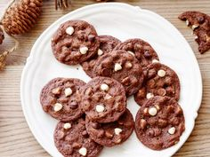 Chocoholics, this one's for you. Not only is Ree's batter made with rich cocoa, but it's also studded with a duo of chocolate chips--semisweet and white chocolate--which promises decadent cookies.