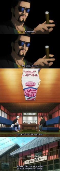 GIIINNNNN!! Hahaha!! :'))  Gintama Ep. 308 - Farewell Shinsengumi Arc  Tags: Gintama, Anime, Comedy, Parody, Drama