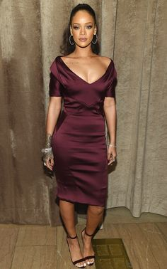 Rihanna in Zac Posen from #InStyle