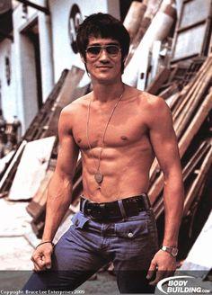 Bruce Lee. My goal jeje