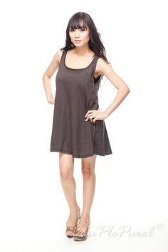 Plain Black Sundress T Shirt Dress Tank Top Women Tunic Black T-Shirt Sleeveless Vest Mini Dresses Shirts Size M L on Etsy, $10.99