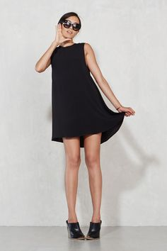 The Goby Dress  https://thereformation.com/products/goby-dress-black