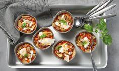 Lasagne-Suppe Rezept: Hackfleisch-Tomaten-Suppe mit Gemüse und Nudelstücken - Eins von 5.000 leckeren, gelingsicheren Rezepten von Dr. Oetker!