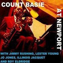 Count Basie Live at Newport One O'Clock Jump Live Cd, Live Jazz, Roy Eldridge, Newport Jazz Festival, Count Basie, Classic Album Covers, Quincy Jones, Music Album Covers, Boogie Woogie