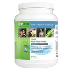 L.O.V.E. MultiVegan Protein Vanilla, 675g, Organic -