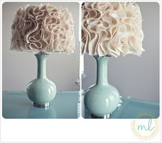 DIY Lamp Shade - Click image to find more DIY & Crafts Pinterest pins