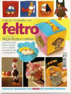 Trabalhos em Feltro 49 - dong3 - Веб-альбомы Picasa