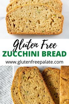 You can make tender gluten-free zucchini bread in a few simple steps. Only one zucchini and a few other ingredients needed before this stunning gluten-free zucchini bread recipe is baking in your oven. Easy Gluten Free Desserts, Gluten Free Donuts, Gluten Free Sides Dishes, Gluten Free Recipes For Breakfast, Gluten Free Breakfasts, Gluten Free Zucchini Bread, Zucchini Bread Recipes, Easy Bread Recipes, Baking Recipes