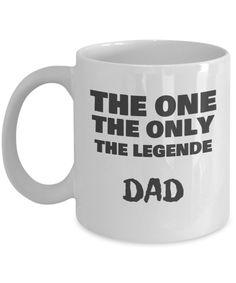 Front Dad Birthday, Birthday Gifts, Dad Mug, Coffee Mugs, Dads, Tableware, Father Birthday, Birthday Presents, Fathers