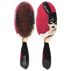 Brushworx Artists and Models Cushion Hair Brush Bunny Boo | RRP $29.95