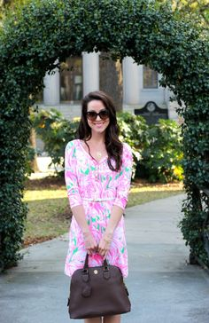 Springtime Savannah living... obsessed with this Lilly dress!