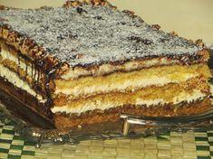 ciasto sezam na wielkanoc Polish Desserts, Polish Recipes, Hungarian Desserts, Good Food, Yummy Food, Traditional Cakes, Different Cakes, Sweets Cake, Pudding Cake