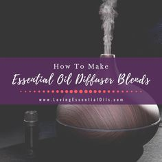 How To Make Custom Essential Oil Blends For Diffuser by Loving Essential Oils. Diffusing essential oils is one of the easiest and fool-proof ways to enjoy aromatherapy. Here I share how you can make your own essential oil blends using a beginner-friendly method. Get our essential oil guide now, just visit the blog post! #essentialoilguide #essentialoilblends #lovingessentialoils