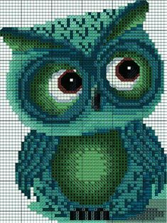 Thrilling Designing Your Own Cross Stitch Embroidery Patterns Ideas. Exhilarating Designing Your Own Cross Stitch Embroidery Patterns Ideas. Cross Stitch Owl, Cross Stitch Animals, Cross Stitch Charts, Cross Stitch Designs, Cross Stitching, Cross Stitch Embroidery, Embroidery Patterns, Hand Embroidery, Cross Stitch Patterns