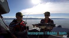 Some Vancouver island salmon fishing these fish are from the spring season I've heard right now they are starting to hit 30lb chinooks! Fish on! #outdoors #nature #sky #weather #hiking #camping #world #love https://youtu.be/h-k0gOIrTAs