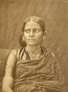 South Indian lady, 1867