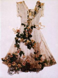 vestido botánico