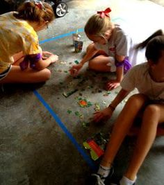 Amazing Race Birthday Party some good ideas for outdoor challenges