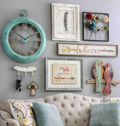 Bring a shabby chic charm to your home by adding pieces of wall decor. They are…