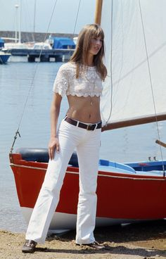 From the Archive: Jane Birkin wearing the Gucci Horsebit Loafer, 1969
