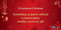#Countdown2Christmas #Gift