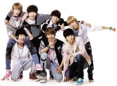 Infinite - SungJong, SungKyu, WooHyun, DongWoo, SungYeol, Hoya, and L.