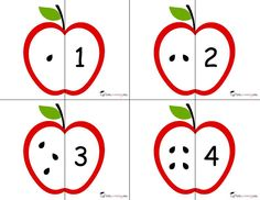 Related Posts:Fun number flashcards for preschoolNumber Sequence PuzzlesPuzzle for KidsApple Activities for PreschoolComplete the PuzzlesThree Piece Puzzle for Kids Montessori Math, Kindergarten Activities, Learning Activities, Preschool Activities, Apple Activities, Number Puzzles, Number Flashcards, Math Work, Apple Theme