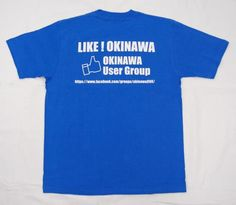 Facebook沖縄ユーザーグループTシャツ  昨年制作し、大好評だった「Facebook沖縄ユーザーグループTシャツ」の2012年版が完成しました。イベントでの配布が終わってから「欲しい!!」「有料でもいいから販売してくれないか」という声にお応えしての新バージョン完成!!  2012年版はいろんな文字が多く、当時の沖縄の人口なども書かれていたので「人口は増減するからねぇ」という声があったり、「なんの数字がわからない」という声もあったりしたので、今回はFacebook沖縄ユーザーグループを前面にプッシュしてのデザインにしました。  今回も在庫限りで終わってしまうかと思いますので、欲しい方は今のうちによろしくお願いします。今年もいろんなイベントでみんなでお揃いのFacebook沖縄ユーザーグループTシャツで楽しみませんか?