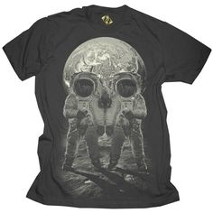 space skull tee. so awesome!