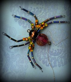 Spider Ornament Sun catcher by AlaArt on Etsy